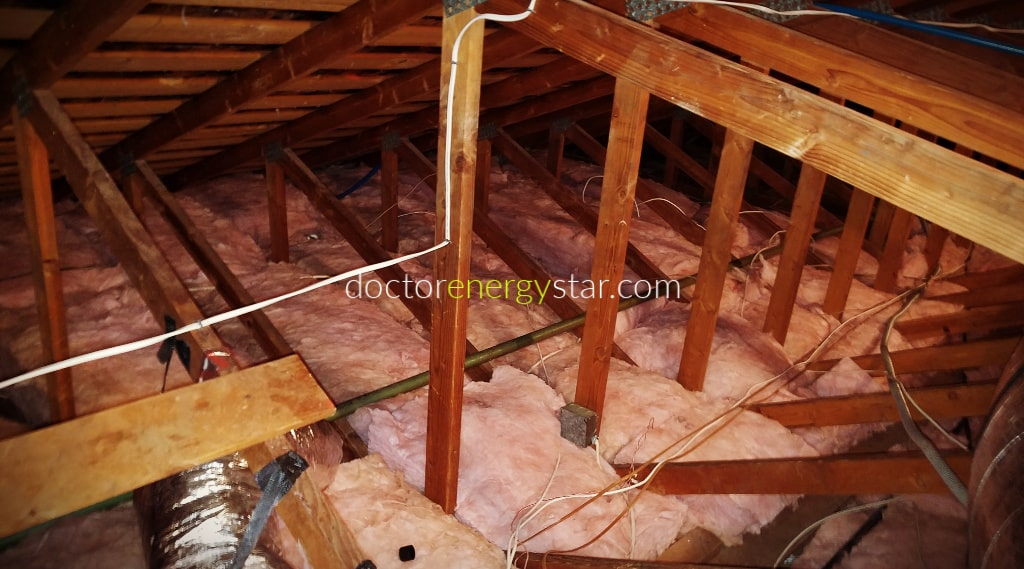 attic insulation removal and attic cleaning ductwork replacement orange county-save-energy-doctor-energy-star-3